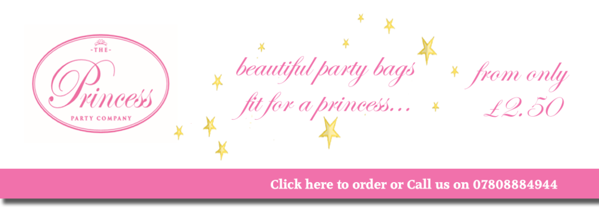 The Princess Party Co. Party Bags