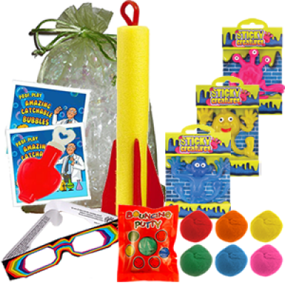 Garys Super Science Party Bag