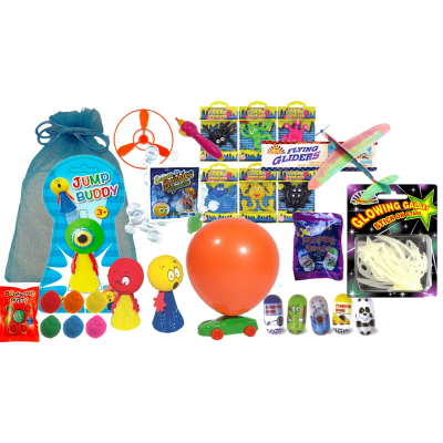 Gold Genie Lab Science Party Bag
