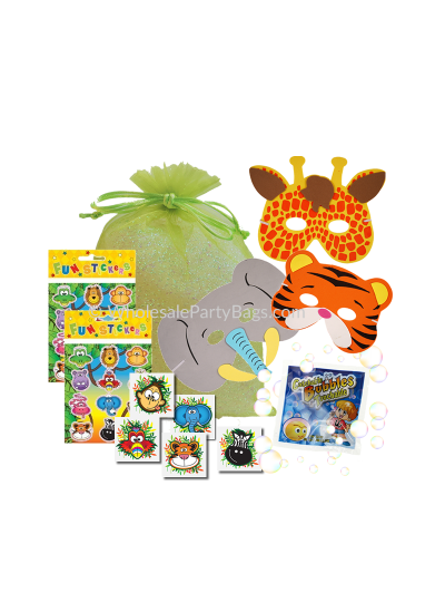 Jungle Animal Wholesale Party Bags
