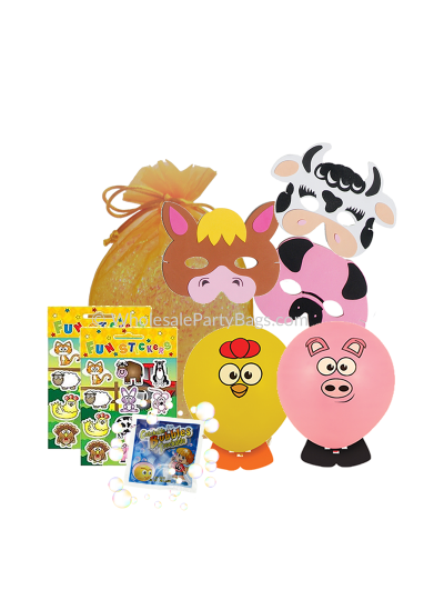 Wholesale Farm Animal Party Bags