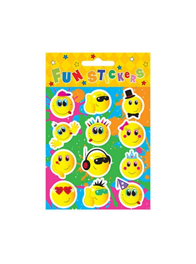 Wholesale x120 Smiley Face Sticker Sheets