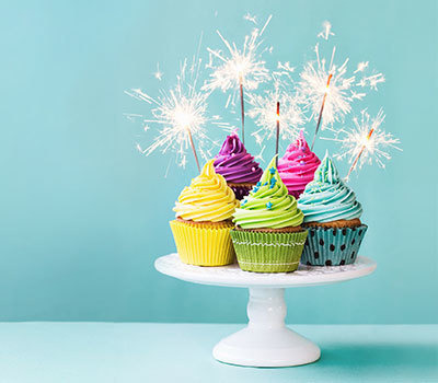 Cake Sparklers & Toppers