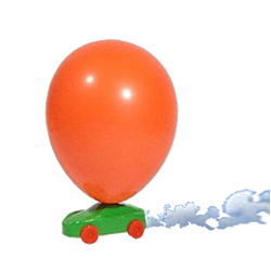 Air Balloon Powered Car