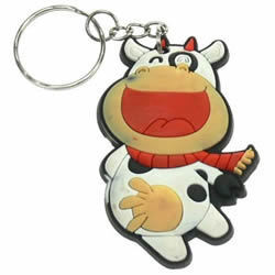 Comedy Cow Keyring
