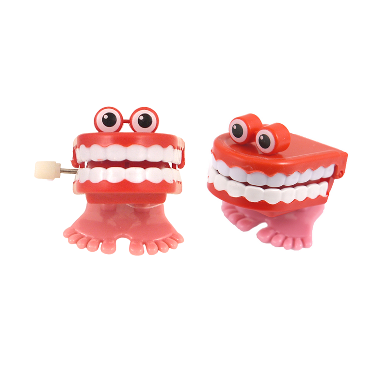 Joke wind up Teeth