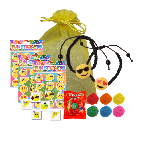 Emoji Smiles Party Bag