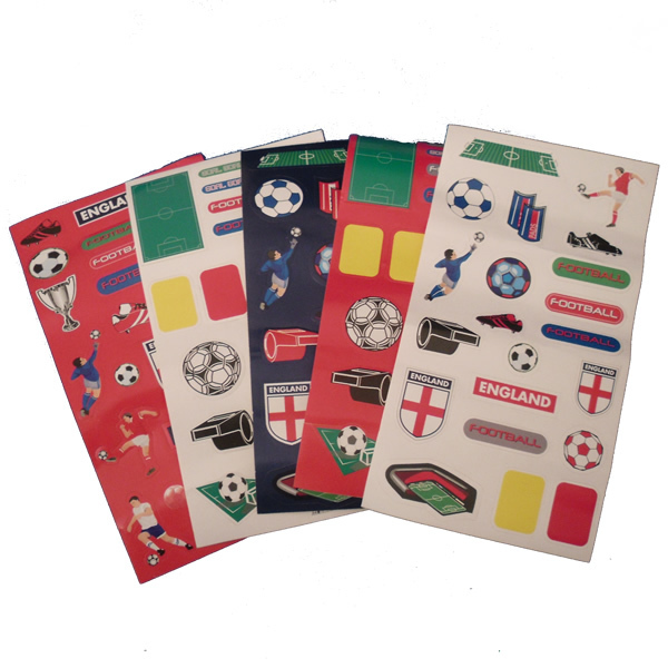 England football stickers for party bags
