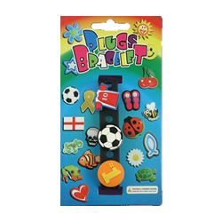 Football Plugs Wristband-Plugs also fit Croc Shoes