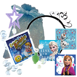 Frozen Princess Themed Party Bag
