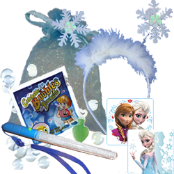 Frozen Themed Ice Princess Party Bag
