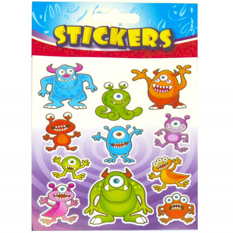 Monster Sticker Sheet