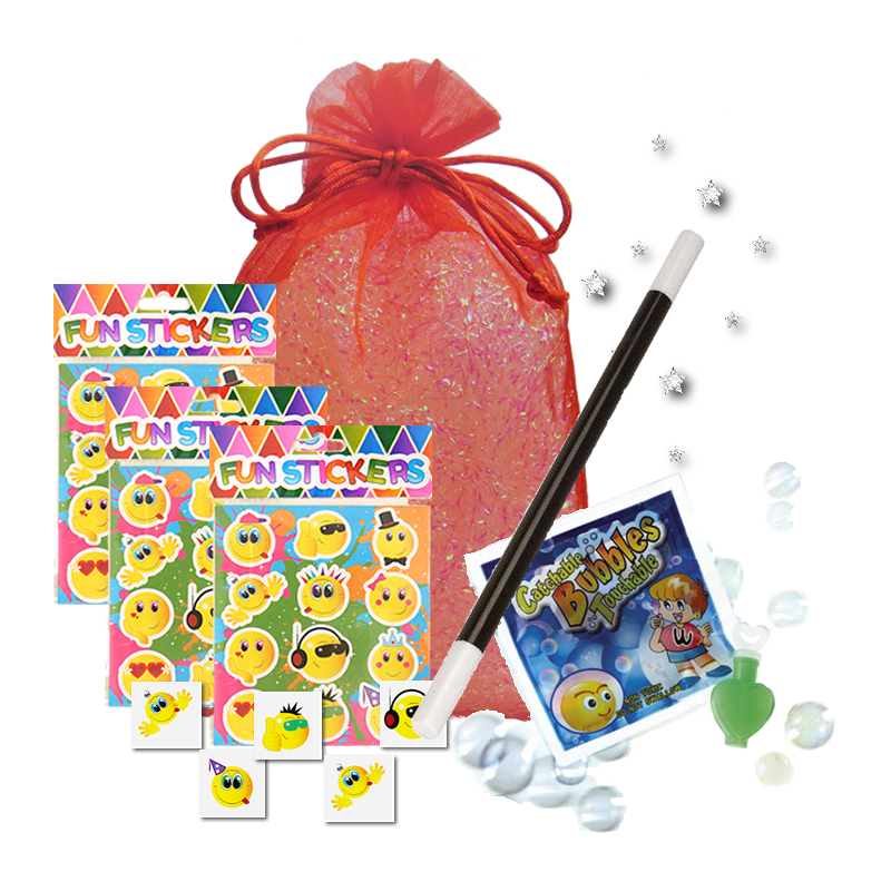 Mini Magic Themed Party Bag