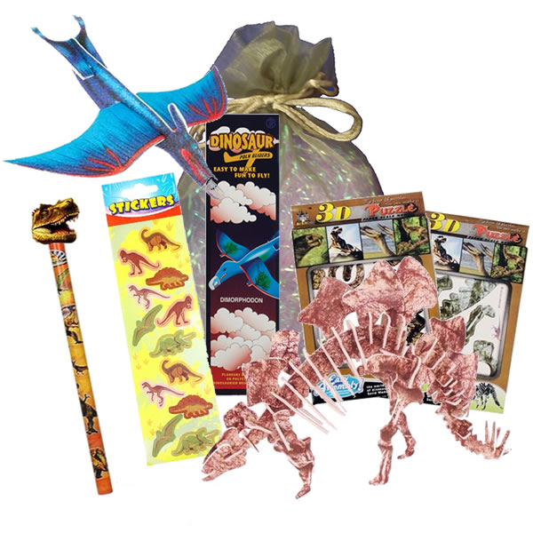 Party Magic DJ Dinosaur Dude Party Bag