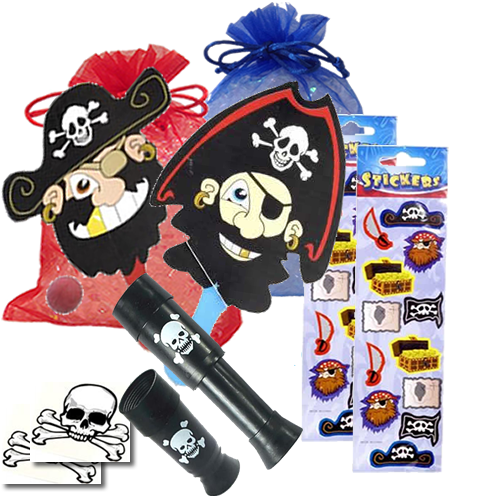 Pirate Capers Party Bag