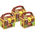 Pirate Treasure Chest Party food Boxes for birthdays