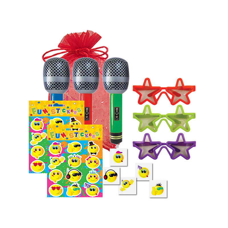 Pop Star Disco Party Bag