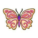 Pretty Butterfly temporary tattoo