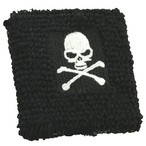 Skull & Crossbones Pirate Wristband