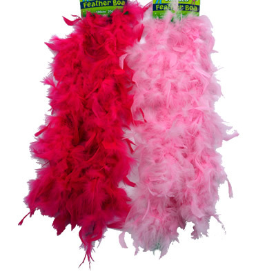Feather Boas for princess party bags