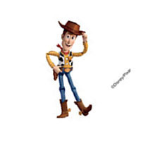 Toy Story Woody Temporary Tattoo