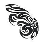 Tribal Design temporary Tattoo