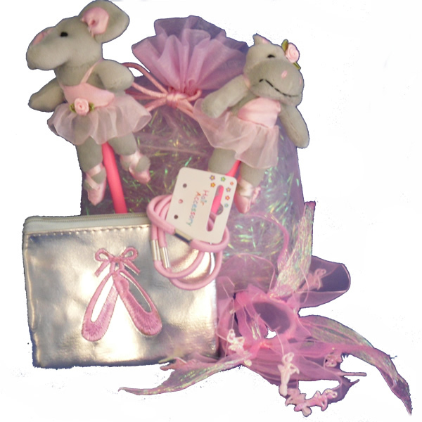 Ballerina themed party bag for girls birthday