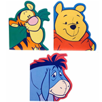 Winnie The Pooh Tigger & eeyore Notebooks for party bags