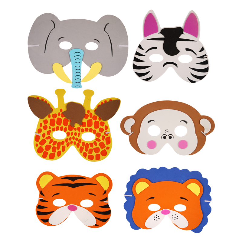 Circus Animal Face Masks