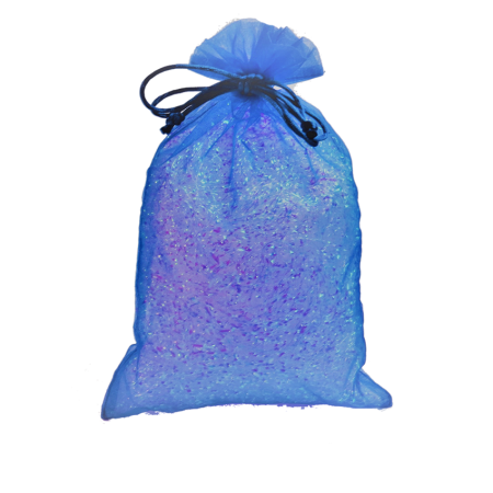 Royal Blue Fabric Party Bag