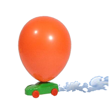 Air Powered Balloon Car