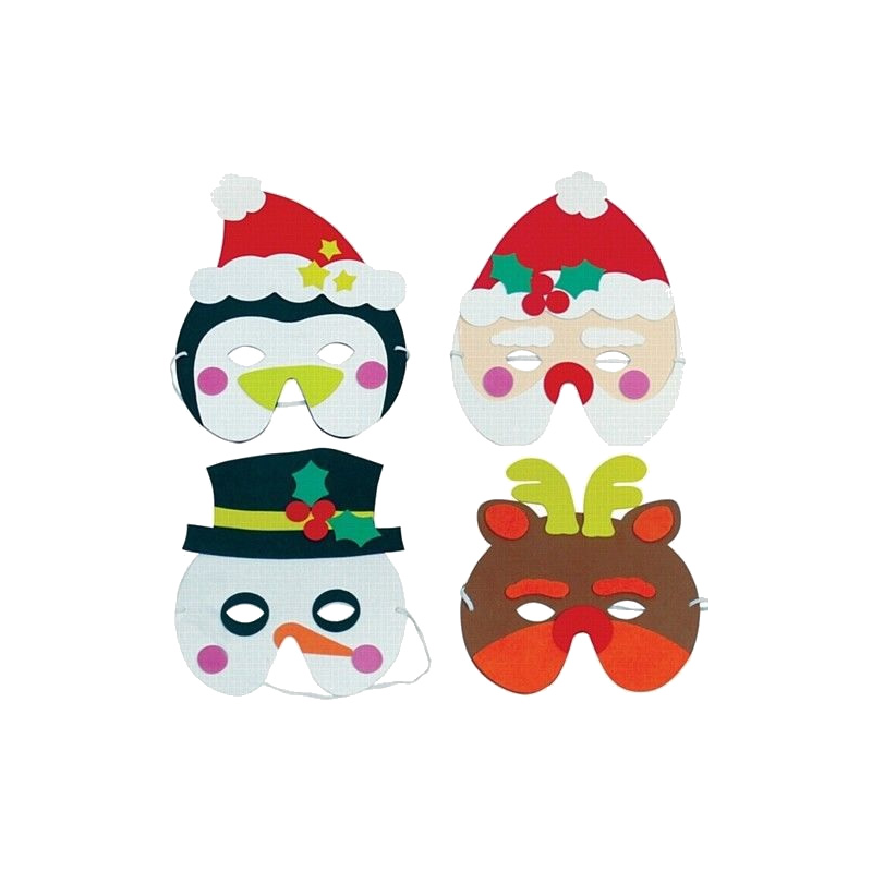 Christmas Character Face Masks
