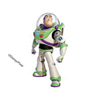 Buzz Lightyear Childrens Temporary Tattoo