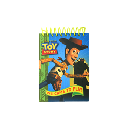Disney toy Story Spiral Notebook