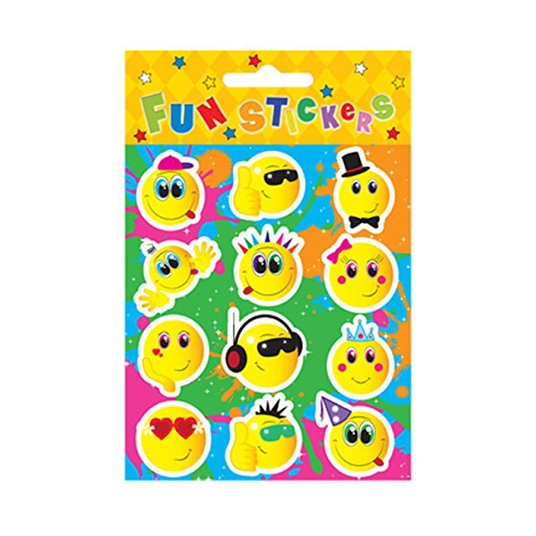 Smiley Face Sticker Sheet