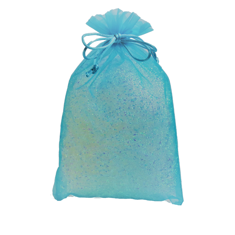 Turquoise Organza Party Bag