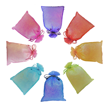Range of party bag colours