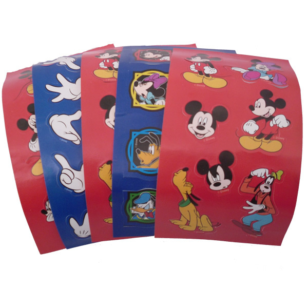 Mickey & Minnie Mouse stickers