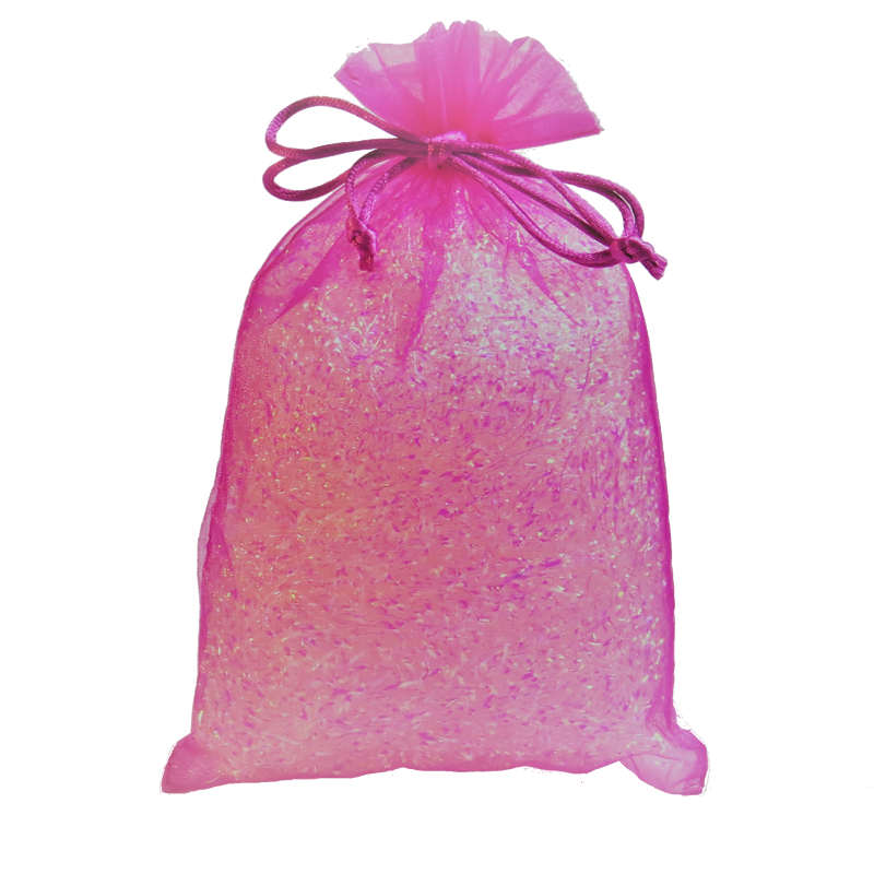 Hot Pink Organza Party Bag