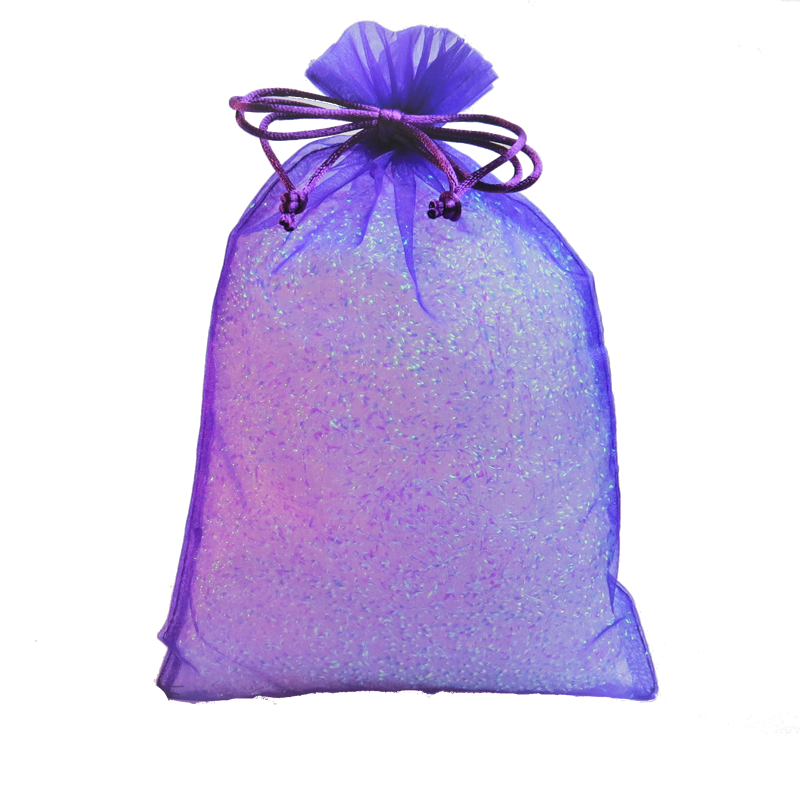 Purple Fabric Party Bag