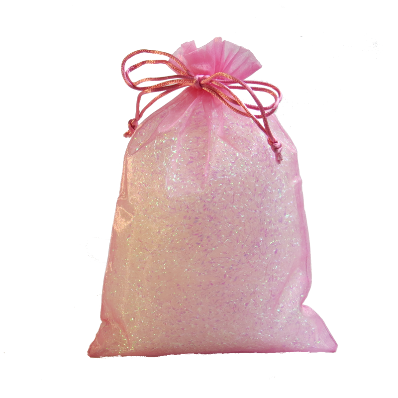 Baby Pink Organza Party Bag