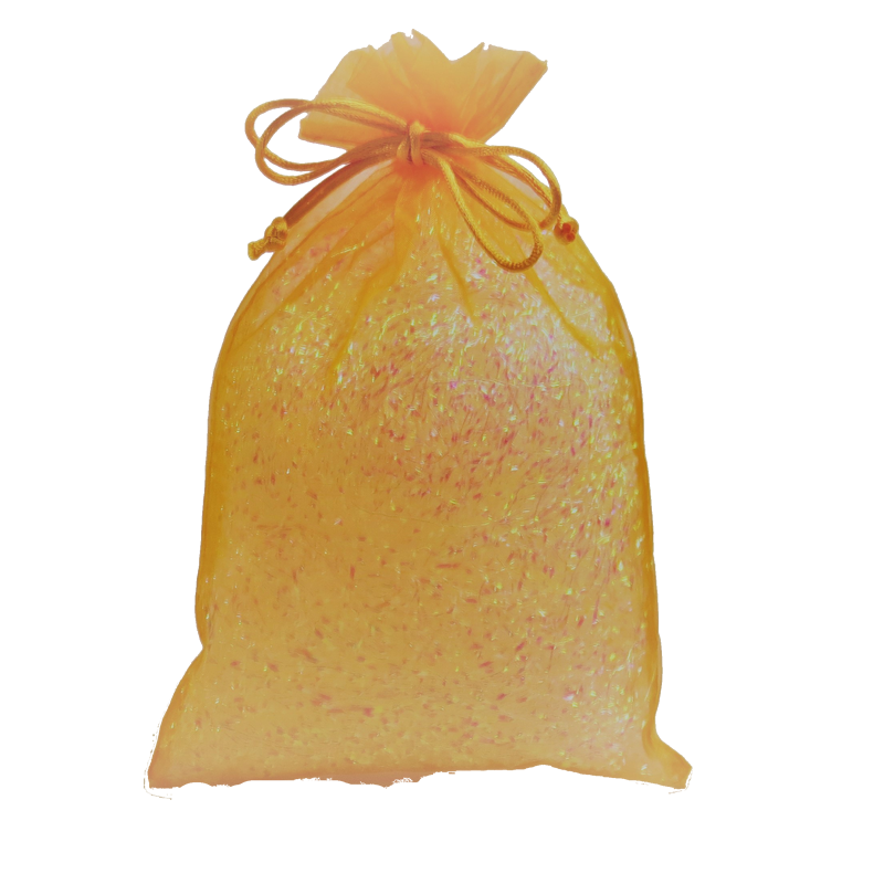 Orange Fabric Party Bag