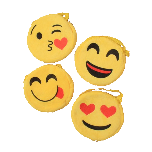 Emoji Plush Party Bags