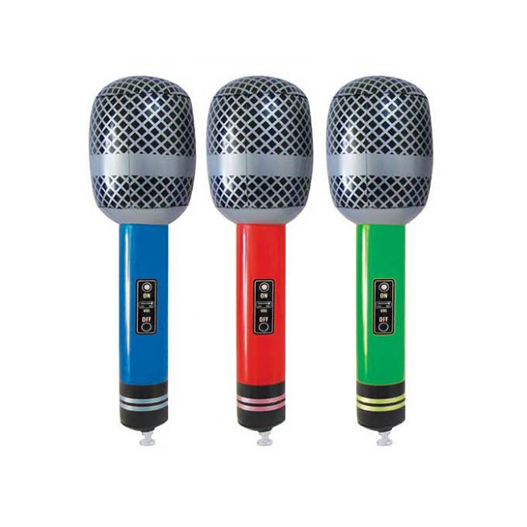 Inflatable Pop Star Microphone