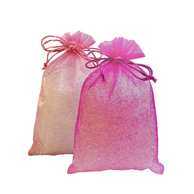 Pink Organza Party Bags