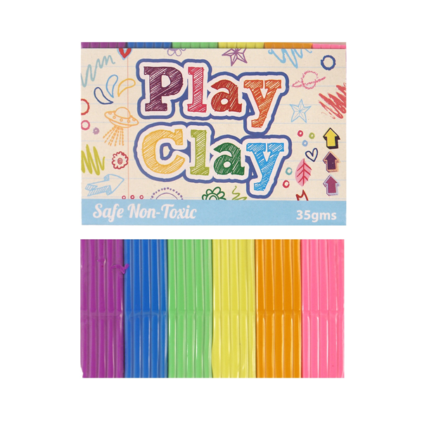 Rainbow Coloured Play Dough