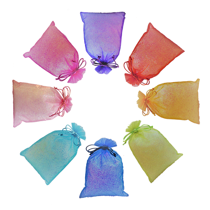 Rainbow range of party bag colours